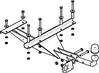 Фаркоп Bosal 1216-AN -