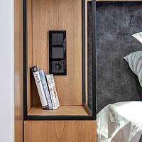 Рамка для выключателя Werkel Favorit WL01-Frame-03 / a031799 (черный) -
