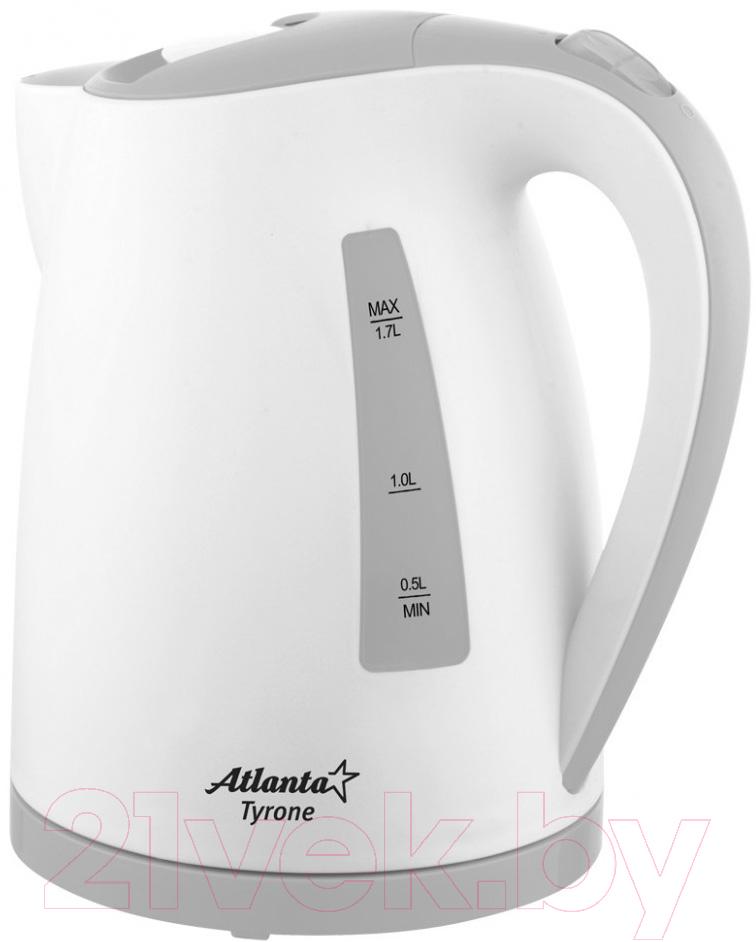 Купить Электрочайник Atlanta, ATH-2372 (серый), Китай