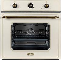 Электрический духовой шкаф Zorg Technology BE6 RST EMY Cream -