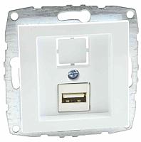 Розетка Mono 500-001905-144 (белый) -