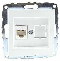 Розетка Mono 500-001905-125 (белый) -