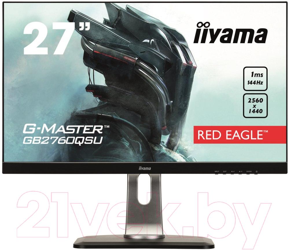 Купить Монитор Iiyama, G-Master GB2760QSU-B1 (черный), Япония