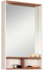 Шкаф с зеркалом для ванной Акватон Йорк 50 (1A170002YOAT0) - общий вид