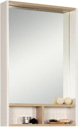 Купить Шкаф с зеркалом для ванной Акватон, Йорк 55 (1A173202YOAD0), Россия