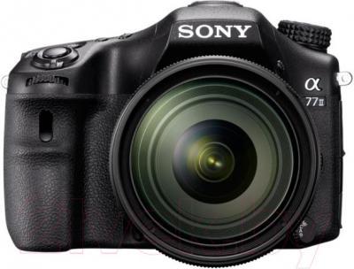 Зеркальный фотоаппарат Sony ILCA-77M2Q - вид спереди