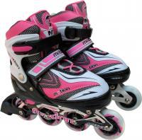 Роликовые коньки Motion Partner MP121M (M, розовый) -