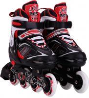 Роликовые коньки Motion Partner MP122S (S, красный) -