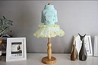 Платье для животных Nicovaer Принцесса / 02132 (XL, голубой) -