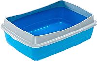 Туалет-лоток Ferplast Nip Plus 20 / 72041299 (бирюзовый) -