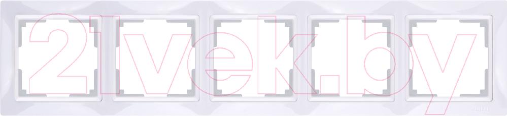 Купить Рамка для выключателя Werkel, Snabb Basic WL03-Frame-05 / a036629 (белый), Россия, поликарбонат, Snabb Basic (Werkel)