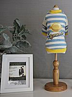 Толстовка для животных Nicovaer Лимончик / 02100 (XL, желтый) -