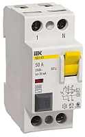 Устройство защитного отключения IEK ВД1-63 2P 40А 30мА / MDV10-2-040-030 -