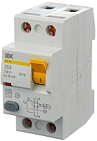 Устройство защитного отключения IEK ВД1-63 2Р 25А 30мА / MDV10-2-025-030 -