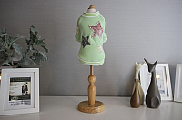 Толстовка для животных Nicovaer Звезда / 02090 (M, зеленый) -