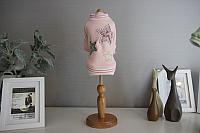 Толстовка для животных Nicovaer Звезда / 02093 (L, розовый) -