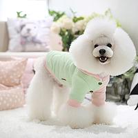 Толстовка для животных Nicovaer С капюшоном / 01619 (S, розовый) -