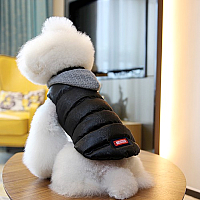 Куртка для животных Nicovaer 01633 (L, черный) -