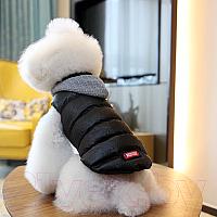 Куртка для животных Nicovaer 01634 (M, черный) -