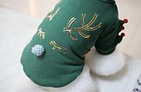 Куртка для животных Nicovaer Олененок / 01543 (S, зеленый) -