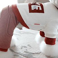 Комбинезон для животных Nicovaer Игрушка / 01643 (S, белый) -