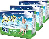 Подгузники-трусики Skippy Pull-Up 6 Box (90шт) -