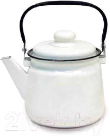 Купить Чайник Эмаль, 01-2711М, Россия, белый