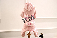 Комбинезон для животных Nicovaer Поросенок плюшевый / 02148 (XL, белый) -