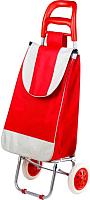Сумка-тележка Perfecto Linea 42-307021 (красный, полоска) -