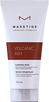 Маска для лица кремовая Masstige Volcanic Ash очищающая (100мл) -