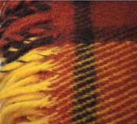 Плед Klippan Золотая осень 170x210 (шерсть) -