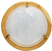 Светильник Candellux Drewno Alabaster 13-64052 -