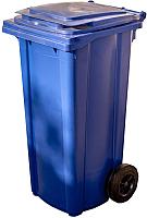 Контейнер для мусора Plastik Gogic 120л (синий) -