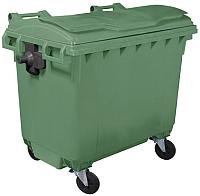 Контейнер для мусора Plastik Gogic 660л (зеленый) -