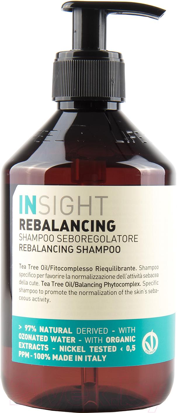 Купить Шампунь для волос Insight, Против жирной кожи головы (400мл), Италия