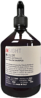 Шампунь для волос Insight Для нейтрализации желтого оттенка волос (400мл) -