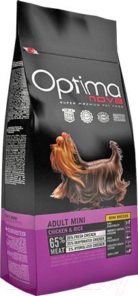 Купить Корм для собак Optimanova, Adult Mini Chicken & Rice (800г), Испания