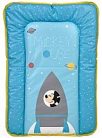 Доска пеленальная Polini Kids Disney baby Микки Маус (голубой) -