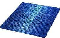 Коврик для ванной Shahintex Multimakaron 50x50 (синий) -