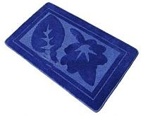 Коврик для ванной Shahintex РР 50x80 (синий) -