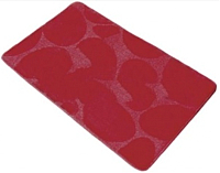 Коврик для ванной Shahintex РР 60x100 (красный) -