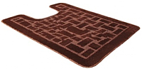Коврик для туалета Shahintex PP 57x80 (коричневый) -