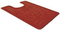 Коврик для туалета Shahintex PP 57x80 (красный) -