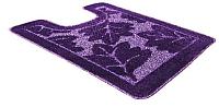 Коврик для туалета Shahintex PP 57x80 (фиолетовый) -