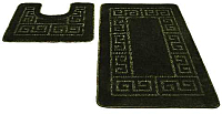 Набор ковриков Shahintex РР 50x80/50x50 (изумрудный) -