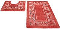Набор ковриков Shahintex РР 50x80/50x50 (коралловый) -