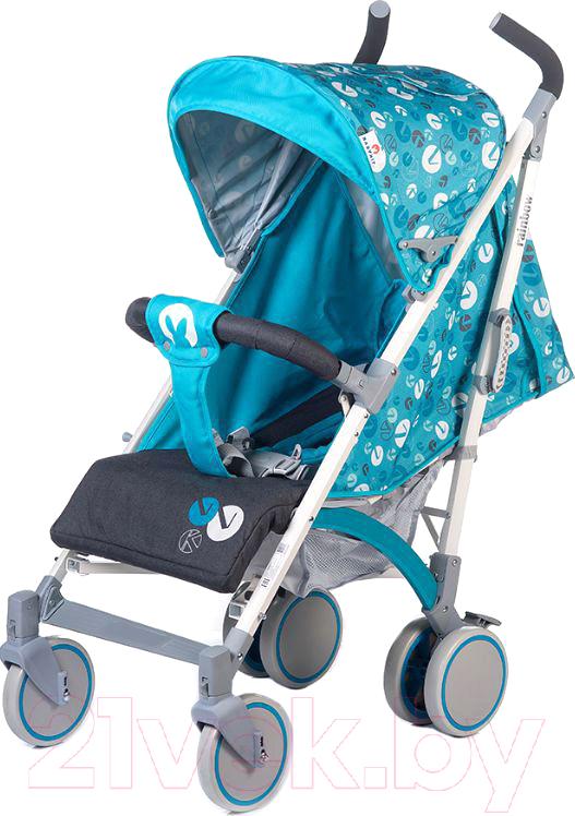 Купить Детская прогулочная коляска Babyhit, Rainbow LT (голубой/серый), Китай