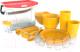 Набор пластиковой посуды Berossi Party ИК 56134000 (солнечный) -