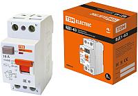 Дифференциальный автомат TDM ВД1-63-2Р-16А-30мА / SQ0203-0004 -