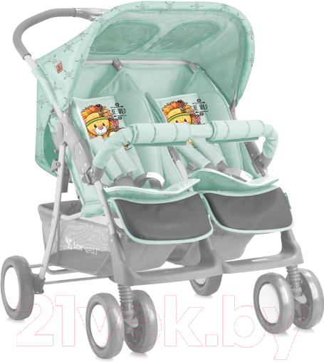 Купить Детская прогулочная коляска Lorelli, Twin Indians / 10020071920 (green), Китай